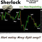 *SHERLOCK* Buy/Sell Signal NO REPAINT Indicator for Forex, HIGHLY PROFITABLE!!