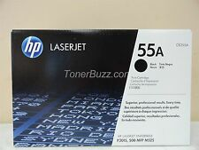 GENUINE HP CE255A 55A TONER CARTRIDGE LASER JET P3015 500 MFP M525 BRAND NEW