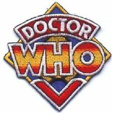 Doctor Who TV Series Original Logo Embroidered Patch (c) 1984 NEW UNUSED