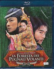 Blu-ray **LA FORESTA DEI PUGNALI VOLANTI** nuovo 2004