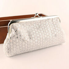 Fashion Women Lady Lovely Handheld Wallet Hasp Sequins Purse Clutch Bag  Trendy