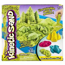 Kinetic Sand Box Set Motion Sand Playset Magic Play Sand - Green