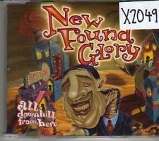 (CL886) New Found Glory, All Downhill From Here - 2004 DJ CD