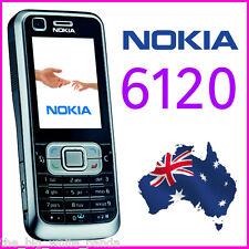 UNLOCKED NOKIA 6120 6120c CLASSIC - BLACK - NEXTG 3G Simple/Retro Mobile Phone