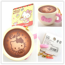 Sanrio Hello Kitty White Latte / Coffee Cup Slow Rising Licensed Soft Squishy