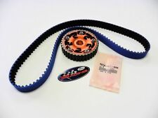 VMS 92-00 HONDA CIVIC SOHC D16 GATES TIMING BELT & ADJUSTABLE CAM GEAR ORANGE