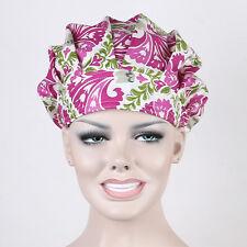 Doctors/Nurse Flowers Bouffant Scrub Cap Surgery Medical Surgical Chef Hat/cap