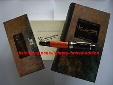 Montblanc hemingway Fountain Pen mont blanc limited edition for sale