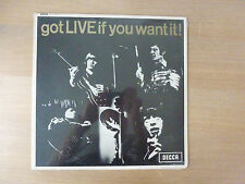 "The Rolling Stones ‎– Got Live If You Want It!, DFEX 8620, 12"" LP, still sealed"