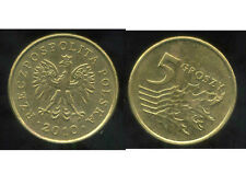 POLOGNE 5 groszy   2010  ( bis )