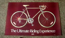 "Early 1980's HUFFY Bicycle Original Poster 35 1/4"" x 24""  - New Condition"