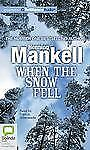 When the Snow Fell, Mankell, Henning, New Books