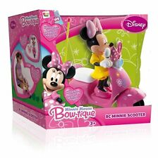 Disney Minnie Mouse RC IR Scooter Ages 3 Radio Remote Control Car Bike Girls Toy