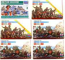 ESCI ERTL 1/72 scale World War Two British Infantry Bundle - 6 mint boxed sets
