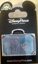 Disney Haunted Mansion Hitchhiking Ghosts Suitcase Pin - New on Card - # 116629