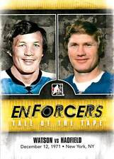 Bryan Watson 36 2011-12 In The Game Enforcers Tale of the Tape Vic Hadfield