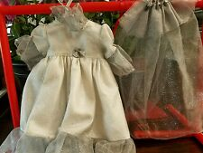 "Doll clothes for 18"" dolls Weddind Dresses w/Veils Play Dress & Pant Outfits PJ'"