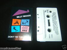 BILLY BRAGG DON'T TRY THIS AT HOME AUSTRALIAN CASSETTE TAPE R.E.M. REM