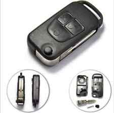 3 buttons remote key case fob blank FOR MERCEDES BENZ C E S ML HU39