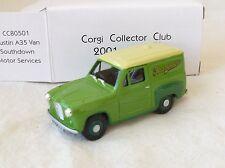 """#7610# MA (88) - Austin A35 Van """"Southdown"""" in 1:50 von Corgi - Clubmodell 2001"""