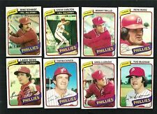 1980 TOPPS PHILADELPHIA PHILLIES TEAM SET (26) - *1215729- -   NM
