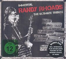 Immortal Randy Rhoads - The Ultimate Tribute DIGIBOOK  CD+DVD Neu