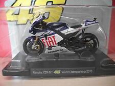 Valentino Rossi - YAMHA YZR-M1 WOLD CHAMPION 2010  *46* 1/18