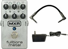 MXR by Dunlop M-116 Fullbore Metal Distortion Pedal w/Power Supply and Cabl