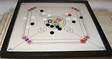 Tournament Size Double Ply Carrom Board With Pieces & Boric Powder New 29''x29''