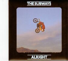 (DZ106) The Subways, Alright - 2008 DJ CD