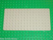LEGO OldGray Baseplate 8x16 ref 3865 / set 6363 7866 6689 6350 7413 6699 3653...