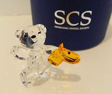 "SWAROVSKI   SCS  KRIS BEAR  "" LET'S  RIDE "" ,   #5098309   BNIB   COME N PLAY"