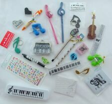 Pack of 24 Music Themed Little Things for Advent Calendar/Party Bag/Stocking Fil