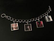 Selena Gomez Rare Unique Album Charm Bracelet