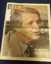 NFL Dallas Cowboys Official Weekly Magazine January 16, 1988; Vol. 13, No. 31