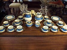 Haviland Pompadour Gold Encrusted China 40Pc Tea Set /Limoges France/New $26,387