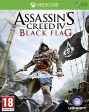 Assassin's Creed IV 4 Black Flag Xbox One * NEW SEALED PAL *