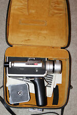 Elmo Super 104 Super 8mm Movie Camera w/ Case