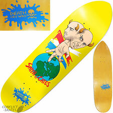"DEATH ""CRV WKD"" Smith & Cates Skateboard Deck 8.75"" x 31.75"" Ramp Park Cruiser"