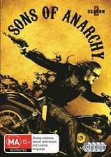 Sons Of Anarchy The Complete Second Season 2 Two Region 4 DVD Low P&H 4 Disc