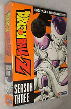Dragon Ball Z: Season 3 Three UNCUT Dragonball DVD Box Set - BRAND NEW & SEALED