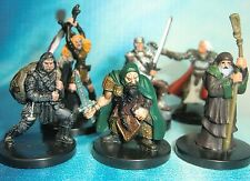 Dungeons & Dragons Miniatures Lot  Elite Player Character Party !!  s104