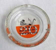 Verne's Roaring Twenties Night Club San Francisco CA 1960s Ashtray Glass