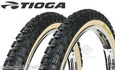 Old School BMX Tioga Comp 3 Fat Skinny Tyre Skinwall Re-Issue 20 x 1.75 2.125 Pr