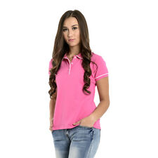 Newyork Army Ladies Penguin Style Polo Shirt_Pink