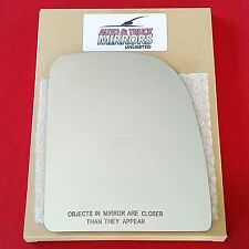 NEW Mirror Glass FORD TRUCK VAN Passenger Right Side TOW TOWING RH