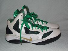 Men's Sz 13 Nike Zoom Hyperfuse 2011 Rajon Rondo Home Player Edition 487424-101