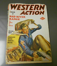 1949 WESTERN ACTION v.13 #3 Pulp Fiction G/VG Double Action Magazine