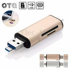 5in1 Type-C To Micro USB 2.0 TF/SD/MMC Card Reader USB 3.0 OTG Adapter USB 3.1