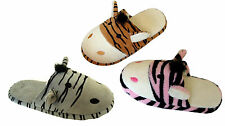 WHOLESALE LOT 36 Pairs Boy/Girls Animal/Zebra house slippers comfort**3019*